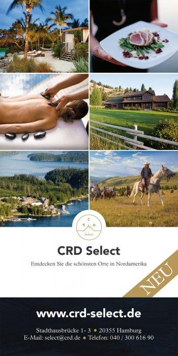 CRD Select Flyer Vorderseite