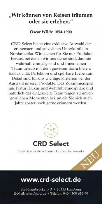 CRD Select Flyer Rückseite